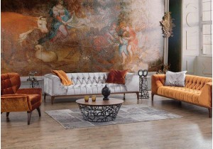 Set mobilier living Hermes